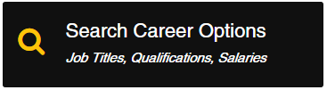 Click on the Search Career Options image learn about job titles, qualifications and salaries of various career fields.