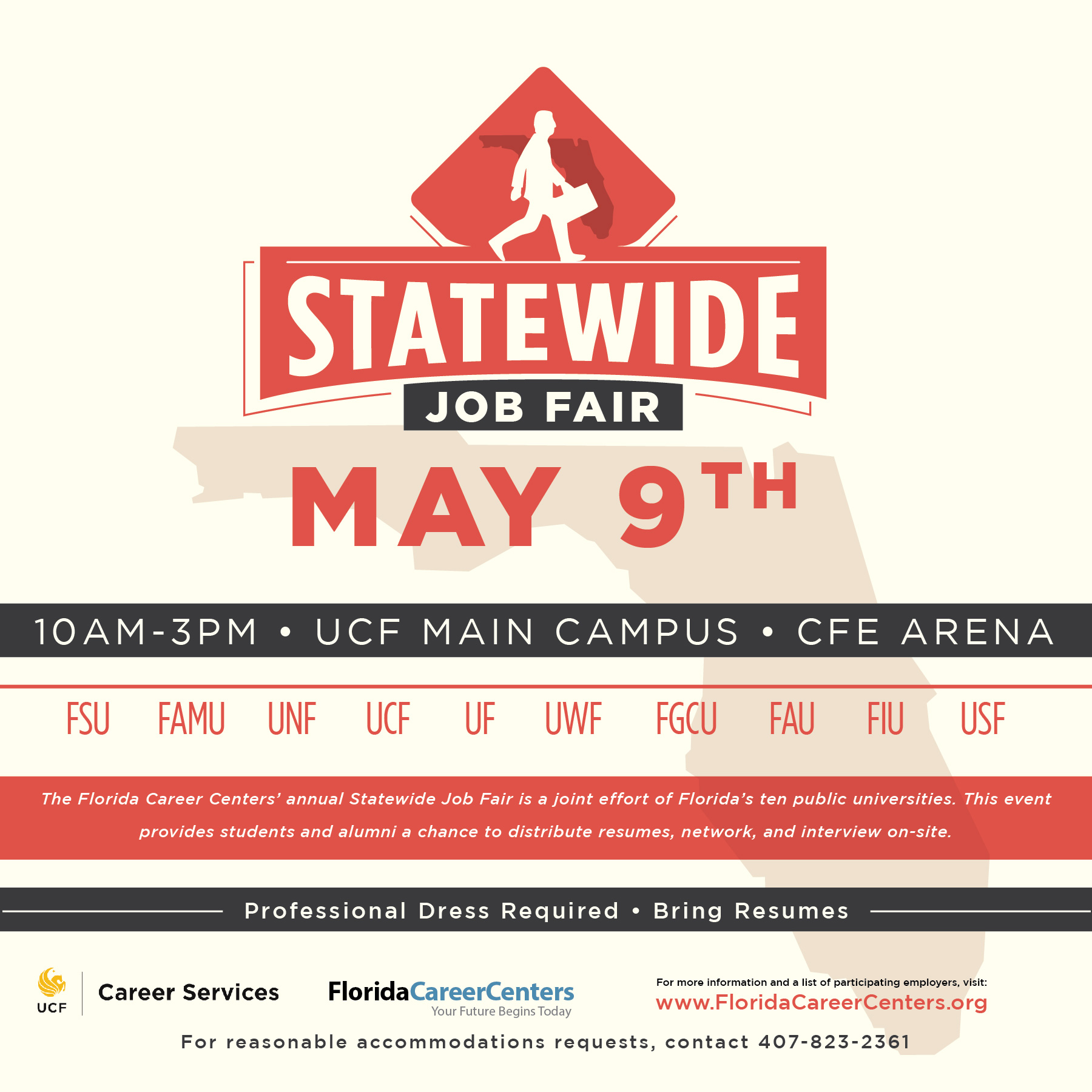 career services ucf statewide job fair