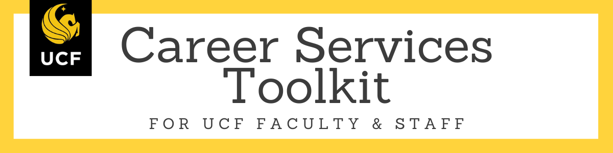 Career Services Toolkit for Faculty & Staff
