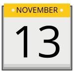 November 13: Education Career Fair
